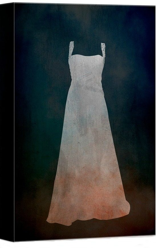 white-dress-canvas-art