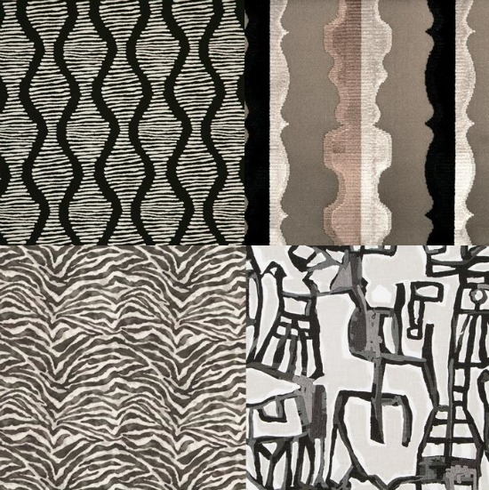 black-and-white-fabric