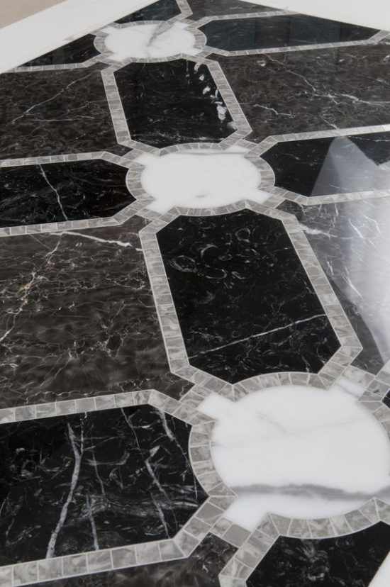 black-white-marble-floor