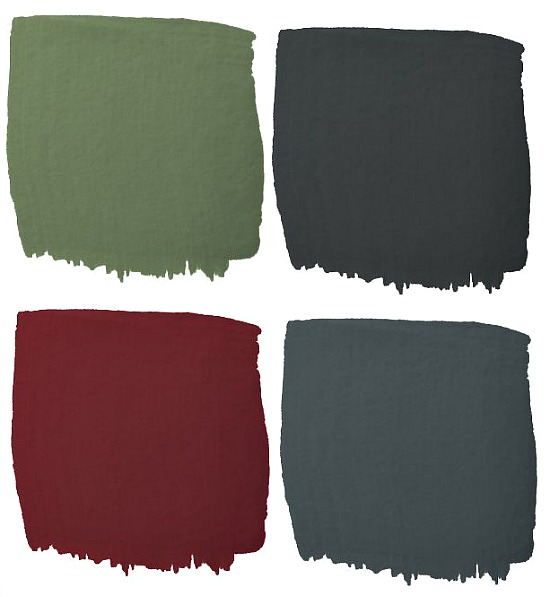 Colorhouse Glass Quart Interior Chalkboard Paint samples