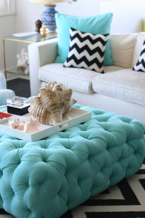 upholstered ottomans, footstools, and benches