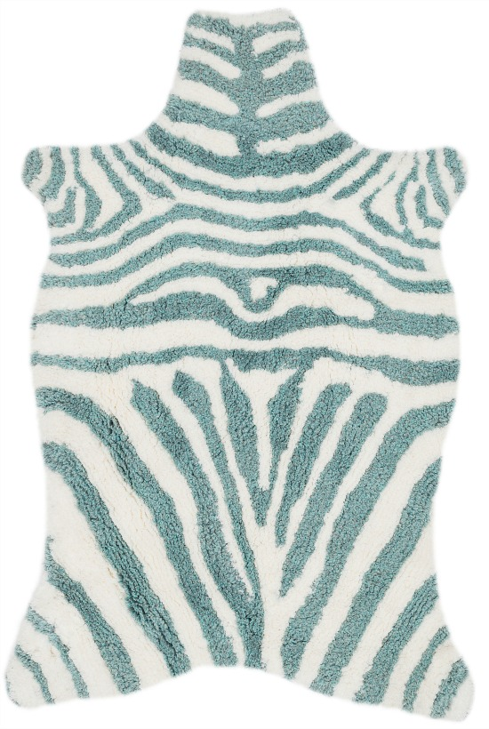 Hand-tufted-Kingdom-Zebra-Shag-Rug