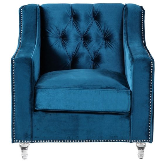 Iconic-Home-Dylan-Velvet-Button-Tufted-with-Gold-Nailhead-Trim-Round-Acrylic-Feet-Club-Chair-2995de1a-ab11-4c16-9dd2-676b2e2d6300_600