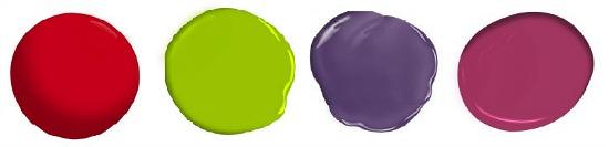 neon paint colors
