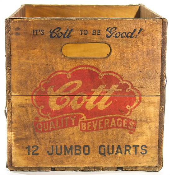 Cott to be Good Soda Crate