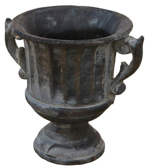 Crawfordsville Steel Pot Planter
