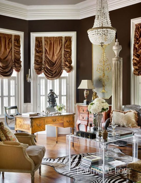 velvet-fabric-accents-living-room