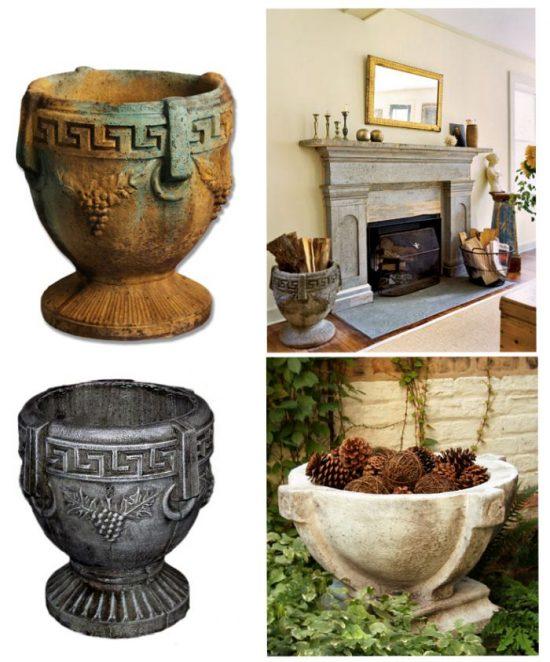 firewood-urns