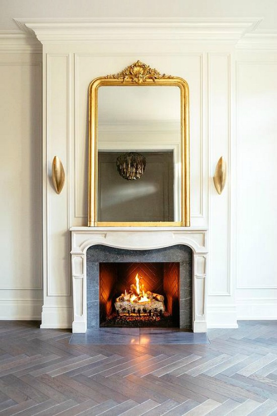 large-french-gold-ornate-fireplace-mirror-leo designs chicago