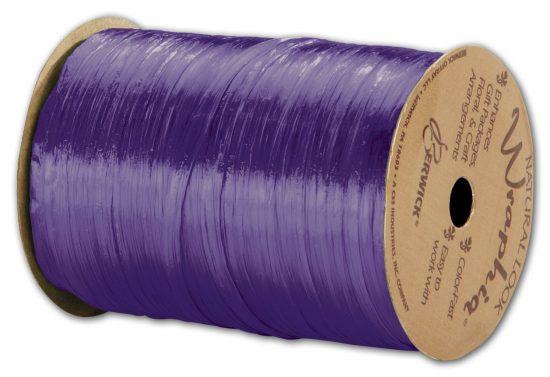 purple-raffia
