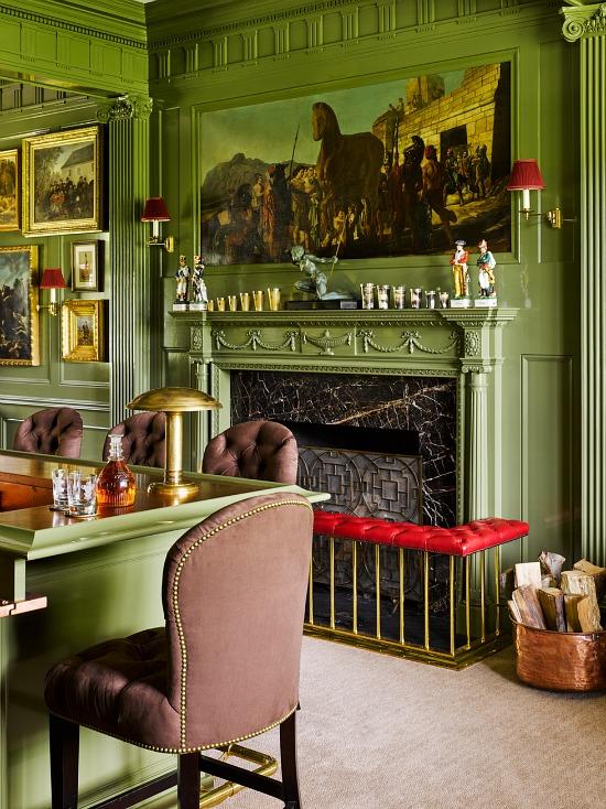 stair-fireplace-ideas-veranda-Designer Lynne Stair