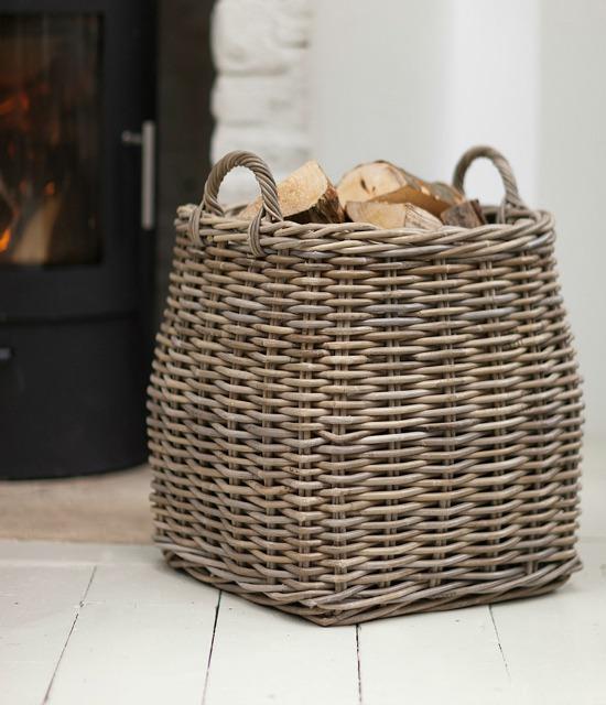 tapered-log-basket