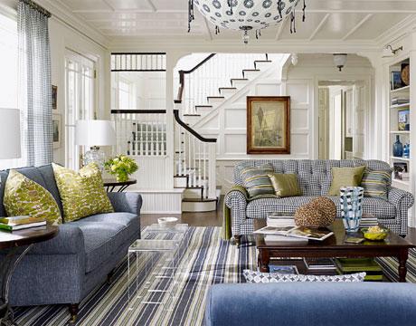 Antique Hbx Watson Livingroom Blue Livingroom De