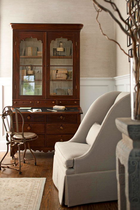 accent chair Traditional Home