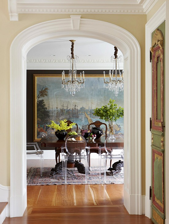 antique-table-with-modern-dining-chairs-Oak-Hill-Architects