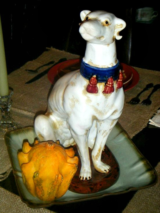 porcelain-dog-statue