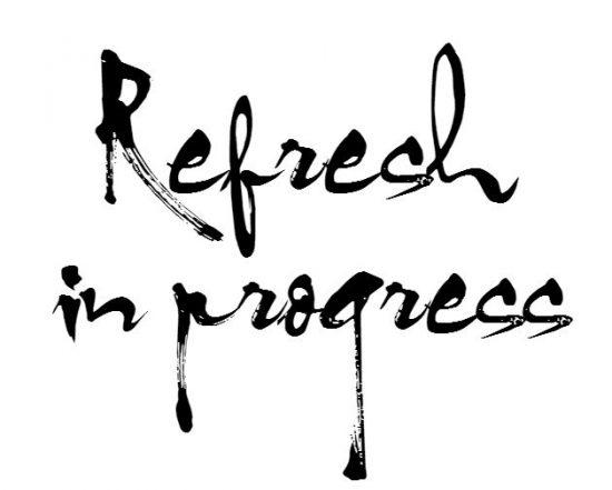 refresh in progress