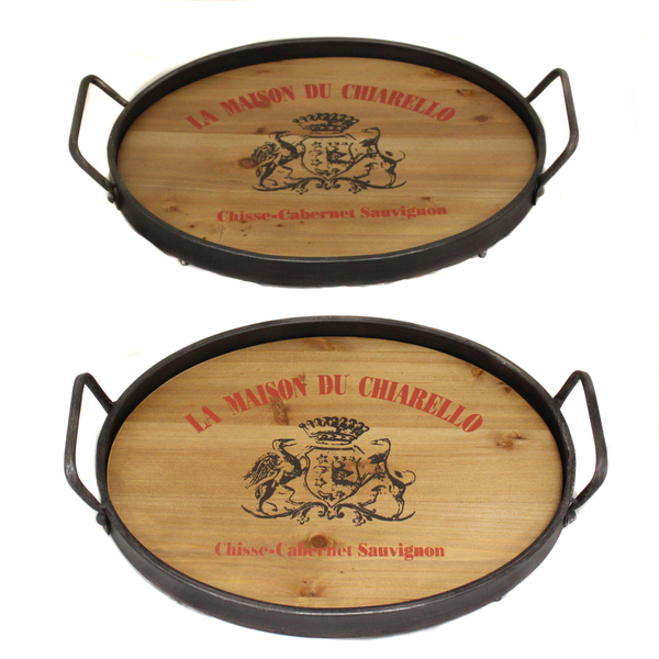 La-Maison-Du-Chiarello-Wood-Metal-Serving-Trays