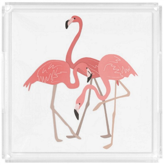 flamingo-serving-tray