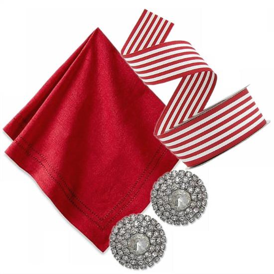 holiday-napkin-ribbon-crystals