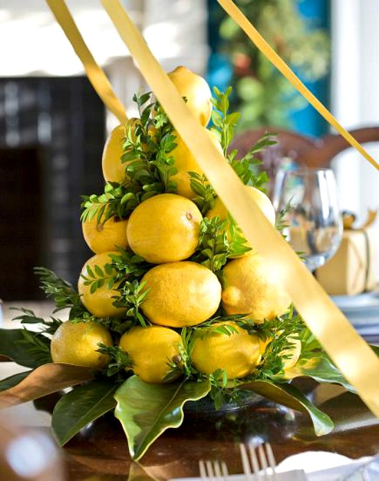 lemon-christmas-tree