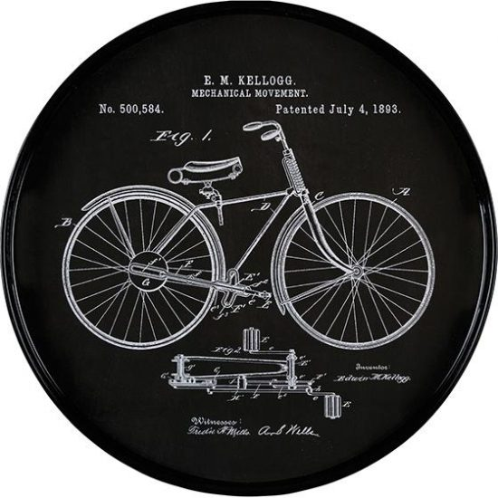 vintage-bicycle-drawing-serving-tray