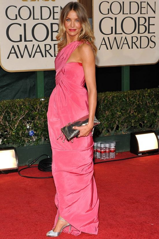 Cameron Diaz Pink Chanel Dress