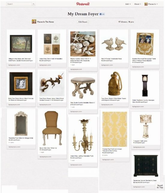 My Dream Foyer Pinterest