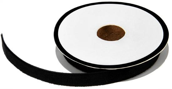 black-velvet-ribbon-spool