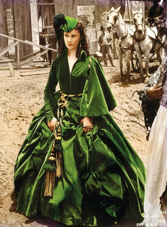 green-dress-Vivien-Leigh