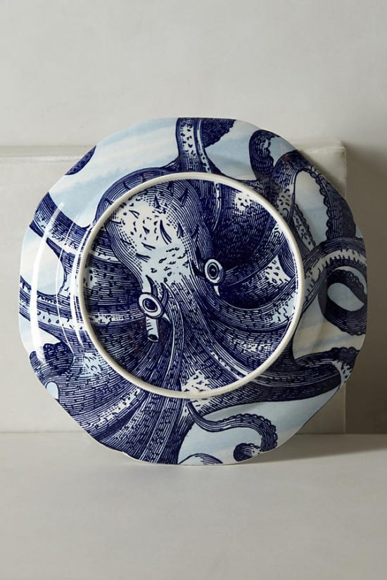 under the sea dinner ware