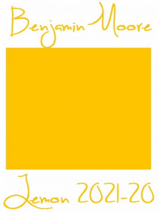 Benjamin Moore Lemon