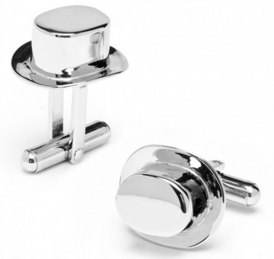 Monopoly-top-hat-cuff-links