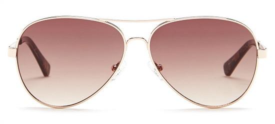 Kenneth Cole Reaction 59mm Aviator Sunglasses