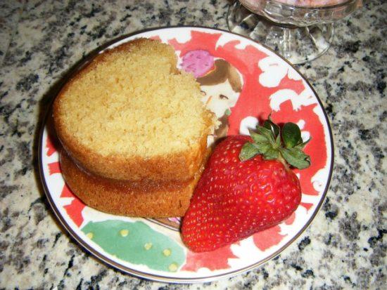 mango lemon cake