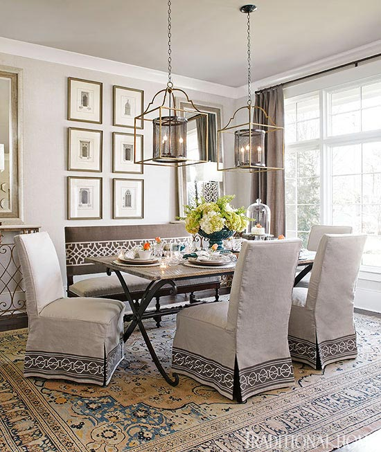 Flawless inspiring gray rooms places in the home for How to decorate a traditional home