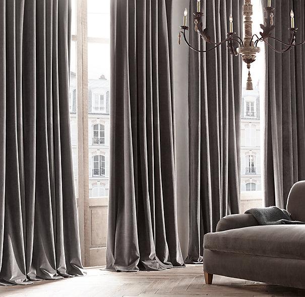 velvet-drapes