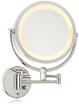 wall mounted lighted mirror