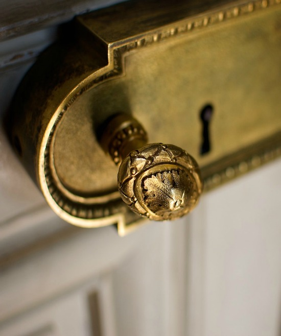 Door knob in Versailles