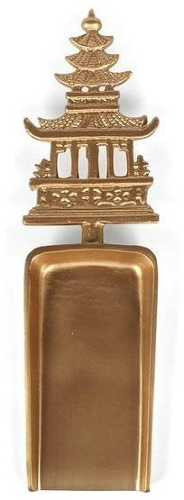 Gold Pagoda Ice Scoop 1