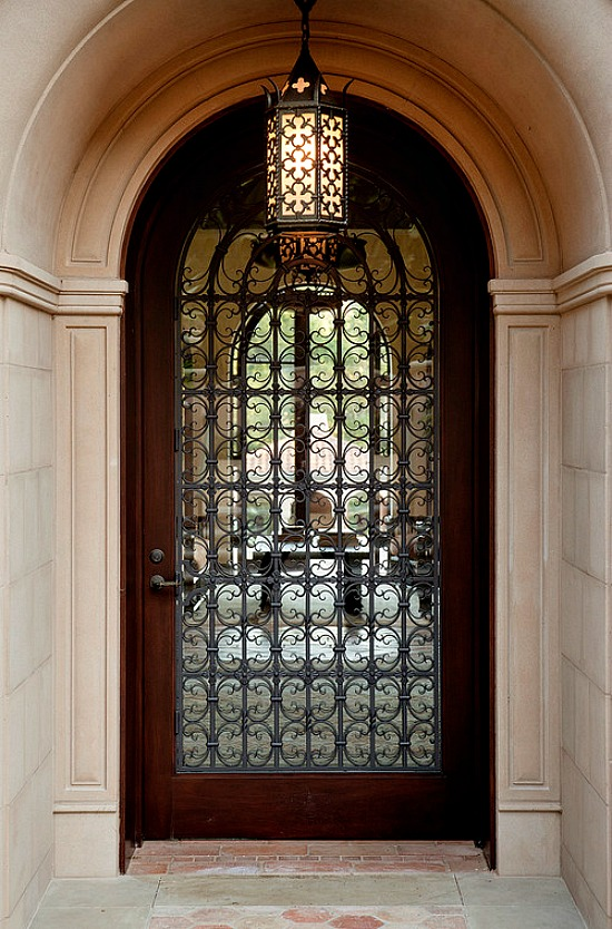 forged-iron-entry-door