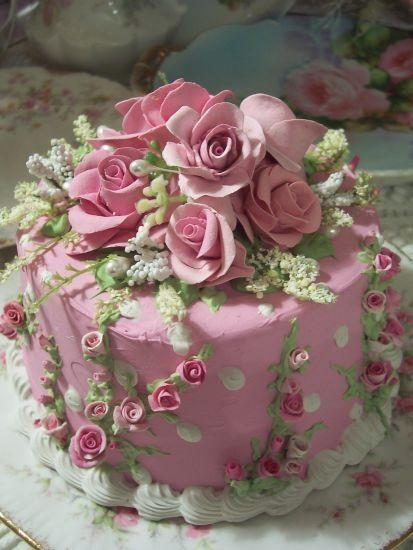 Pink Rose Cake Images : Happy Mother s Day! - Places In The Home