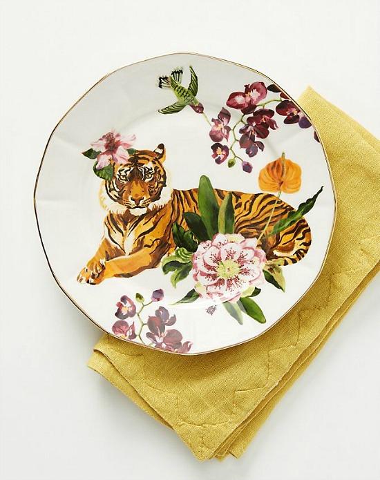 Nathalie Lete Titania Dessert Plate