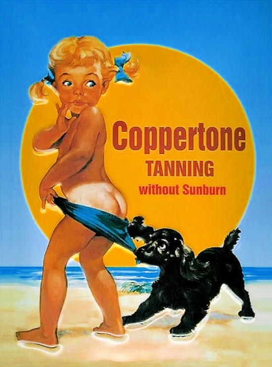 Coppertone-tanning-without-sunburn-vintage-advertising1