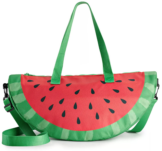 Novelty Watermelon Cooler Bag