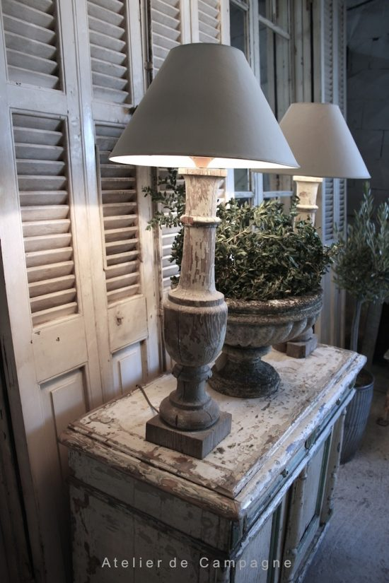 Pair Baluster Lamps sm