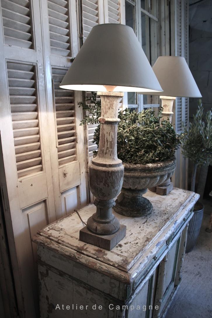 Pair Baluster Lamps sm