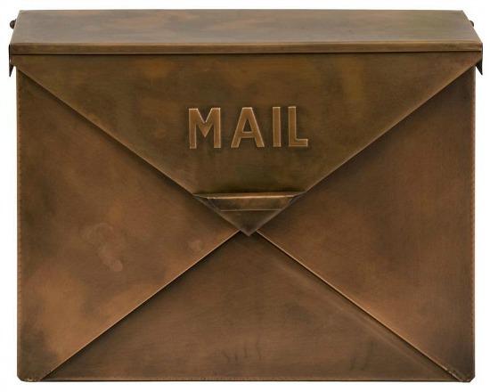 browns-tans-benzara-wall-mount-mailbox