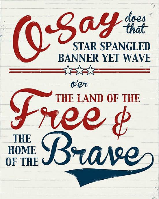 free printable anthem banner