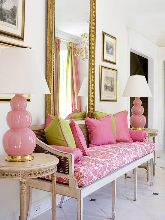 pink-and-green-space
